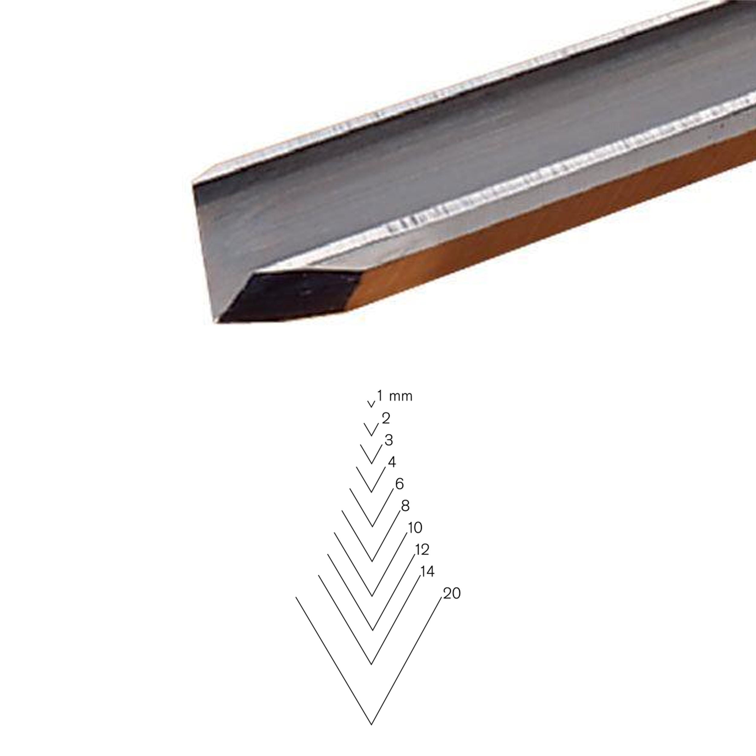 PFEILSwiss Made 4mm #8 Sweep Spoon Gouge