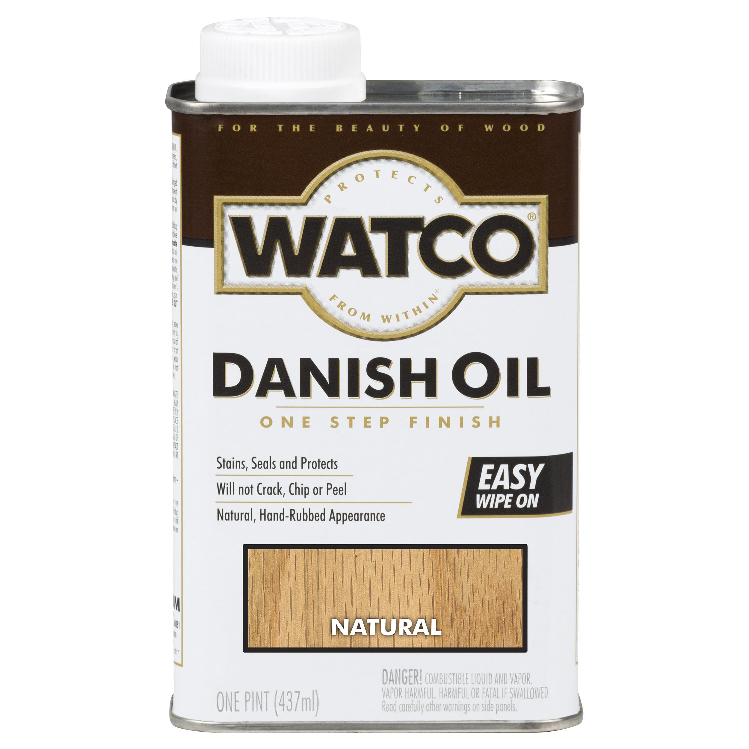 Natural Danish Oil Solvent Based Pint