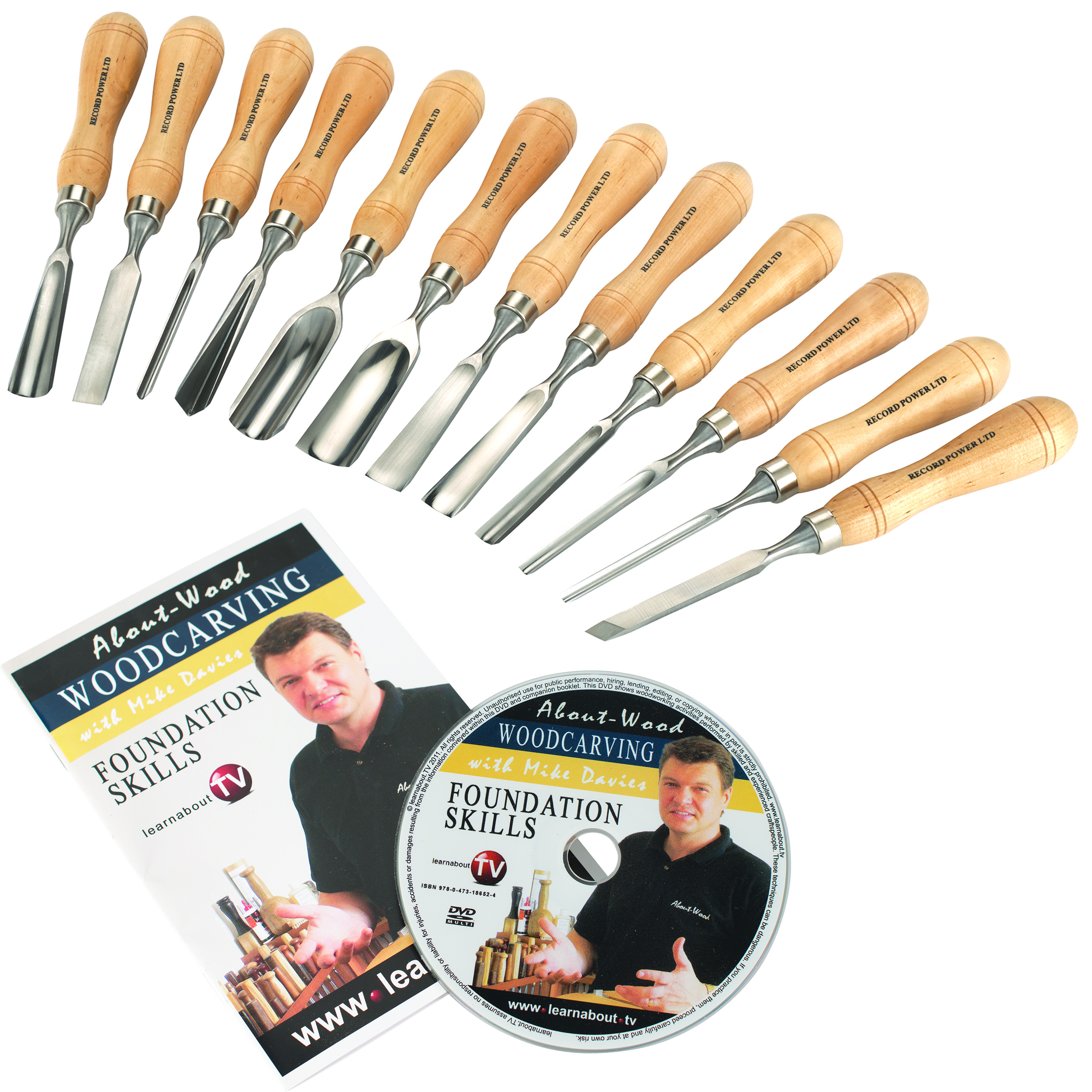 Carving Tool Full Size Set 12 piece