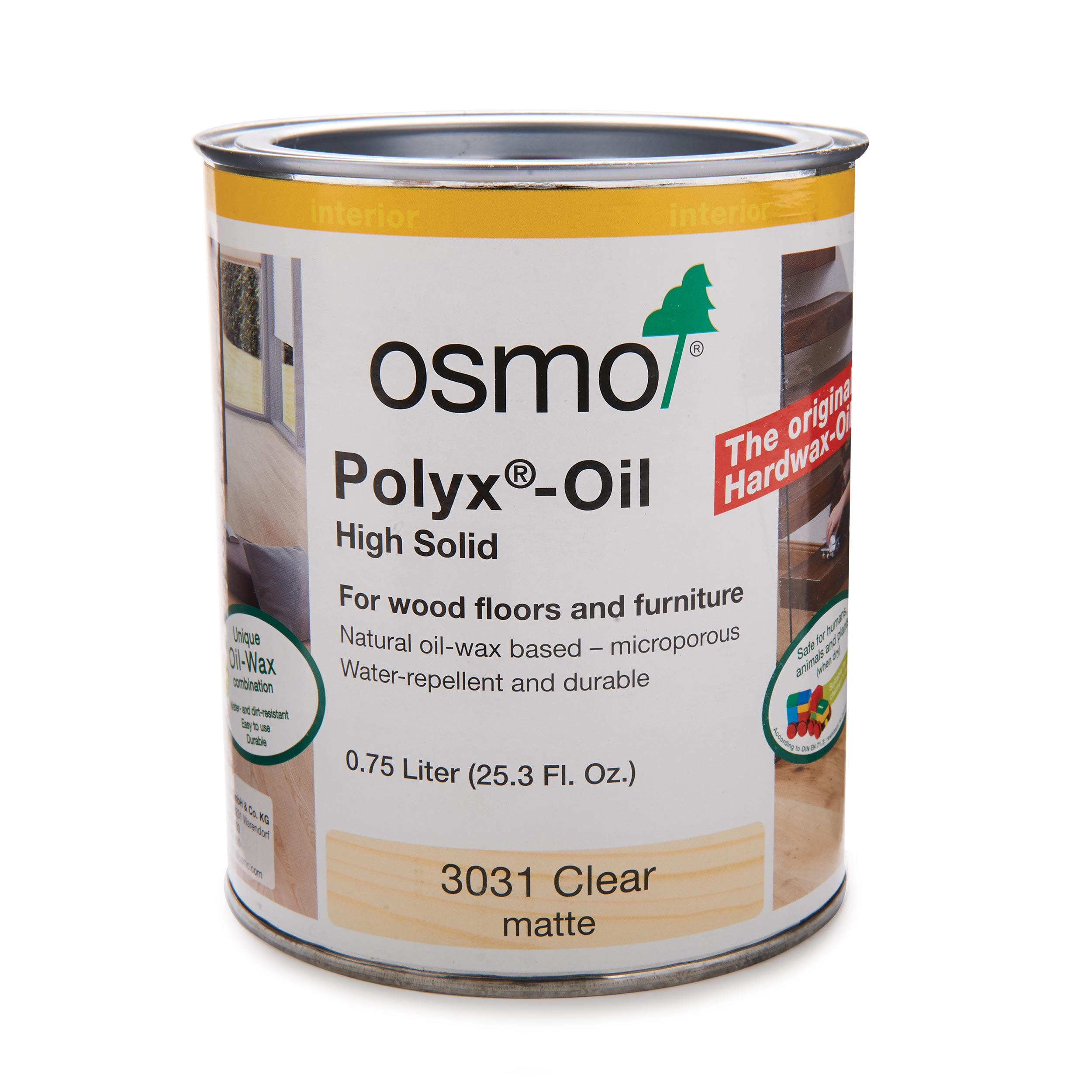 Matte Clear Polyx-Oil 3031?Solvent Based .75 l????????