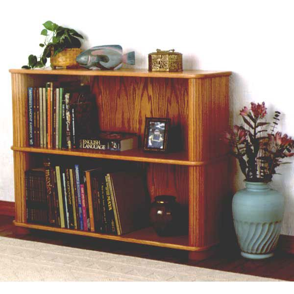 Woodworking Project Paper Plan to Build Tambour Bookcase