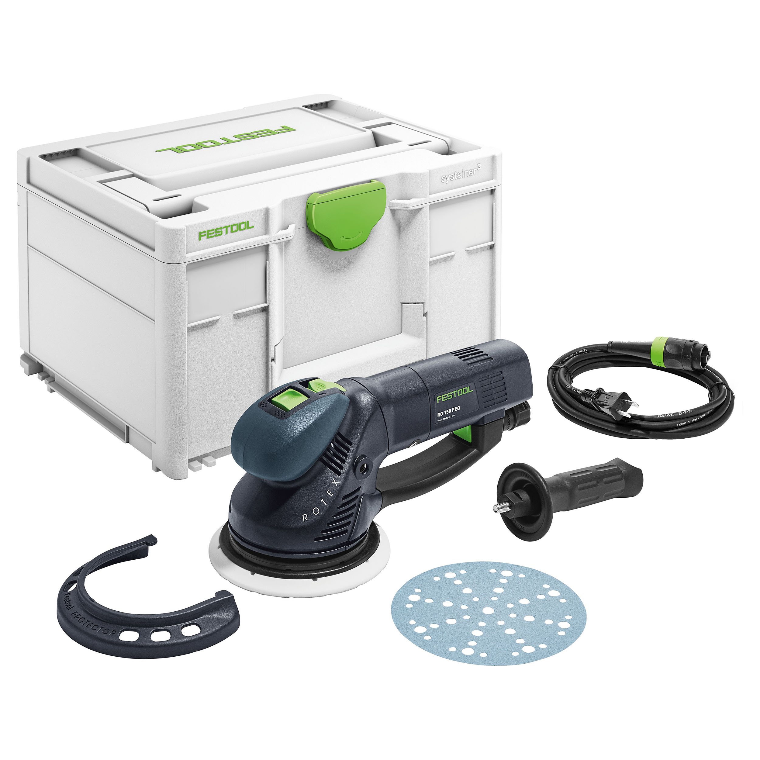 Rotex RO 150 FEQ-Plus Sander in systainer?