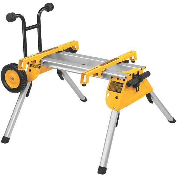 Heavy-Duty Rolling Table Saw Stand, Model DW7440RS