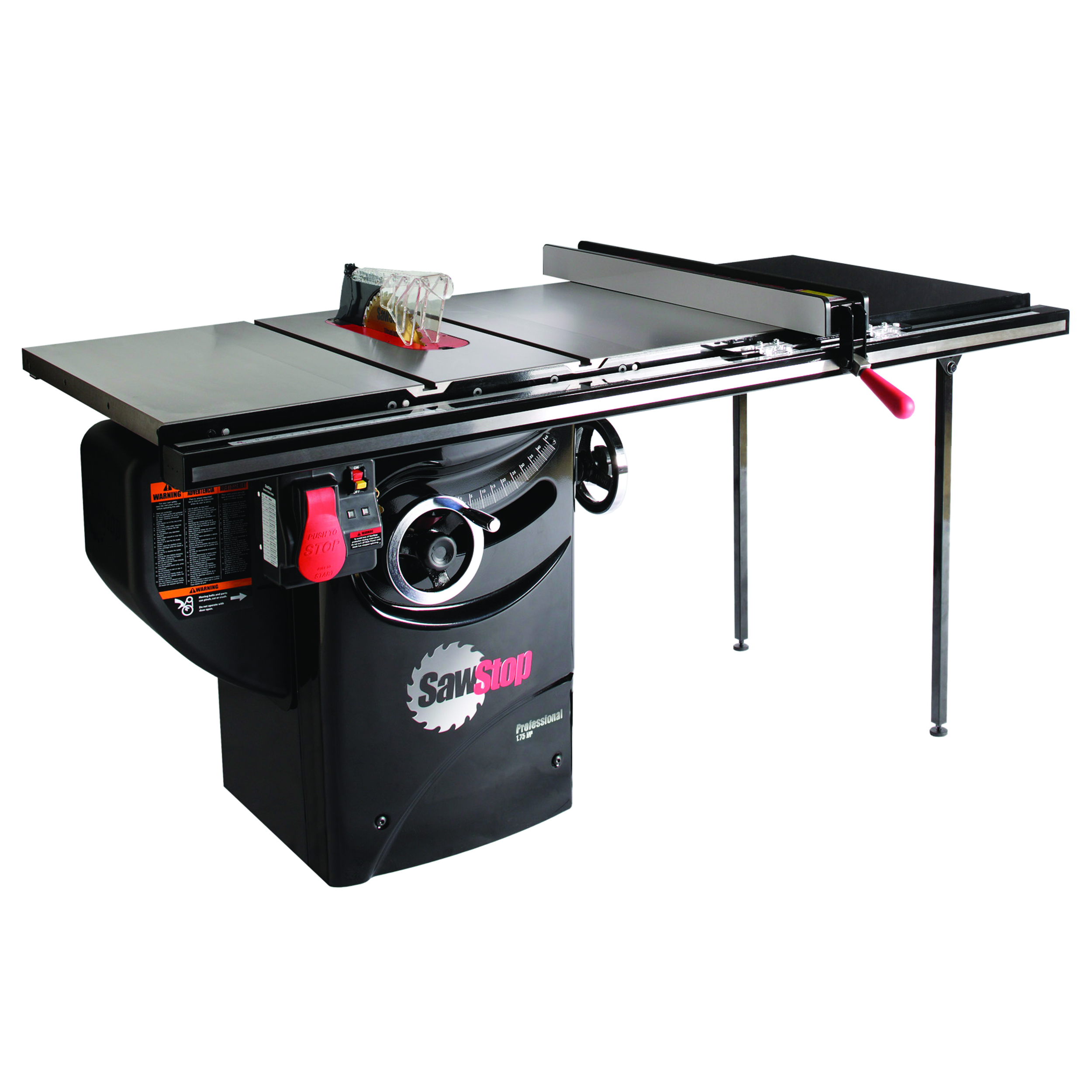 1-3/4HP 1PH 110V Professional Cabinet Saw with 36