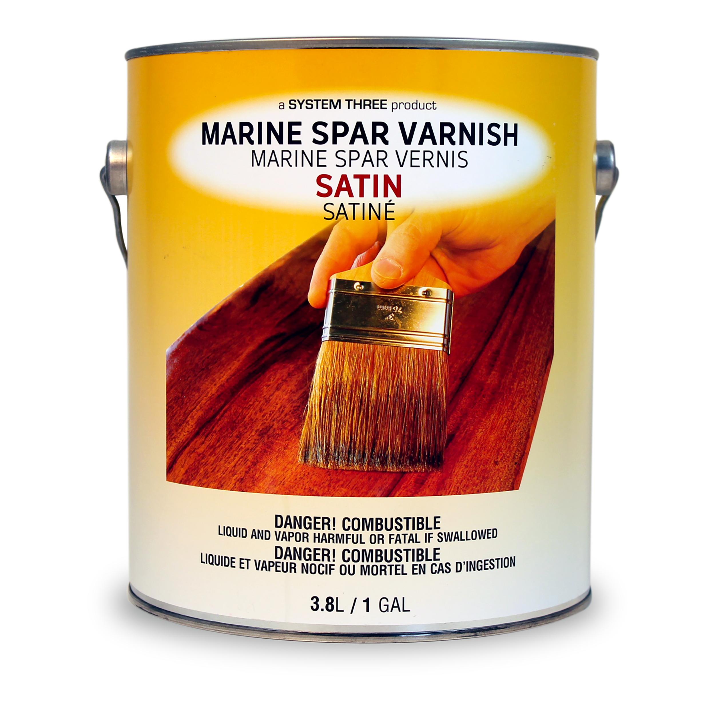 Spar Urethane, Satin, Gallon