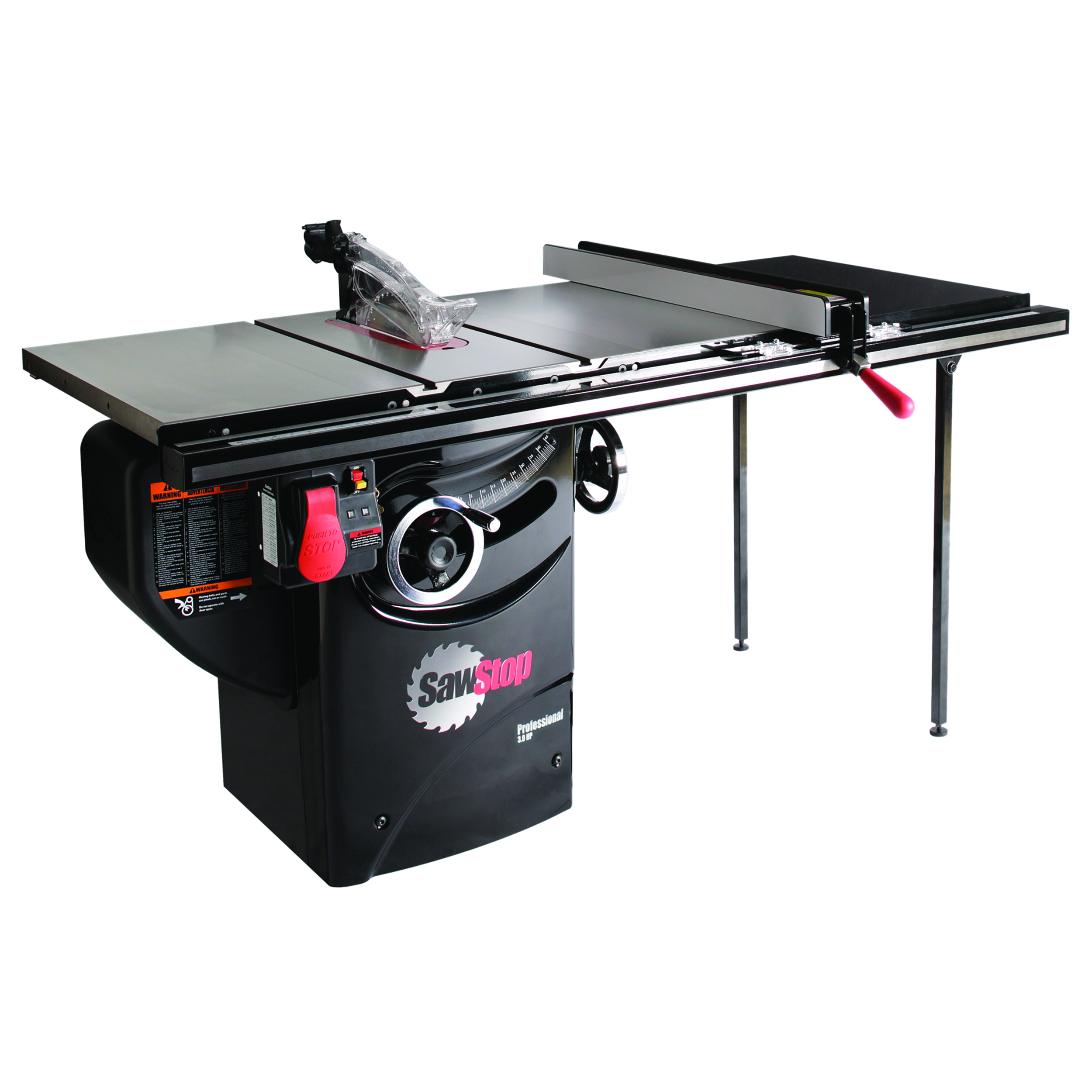 3HP 1PH 230V Professional Cabinet Saw with 36