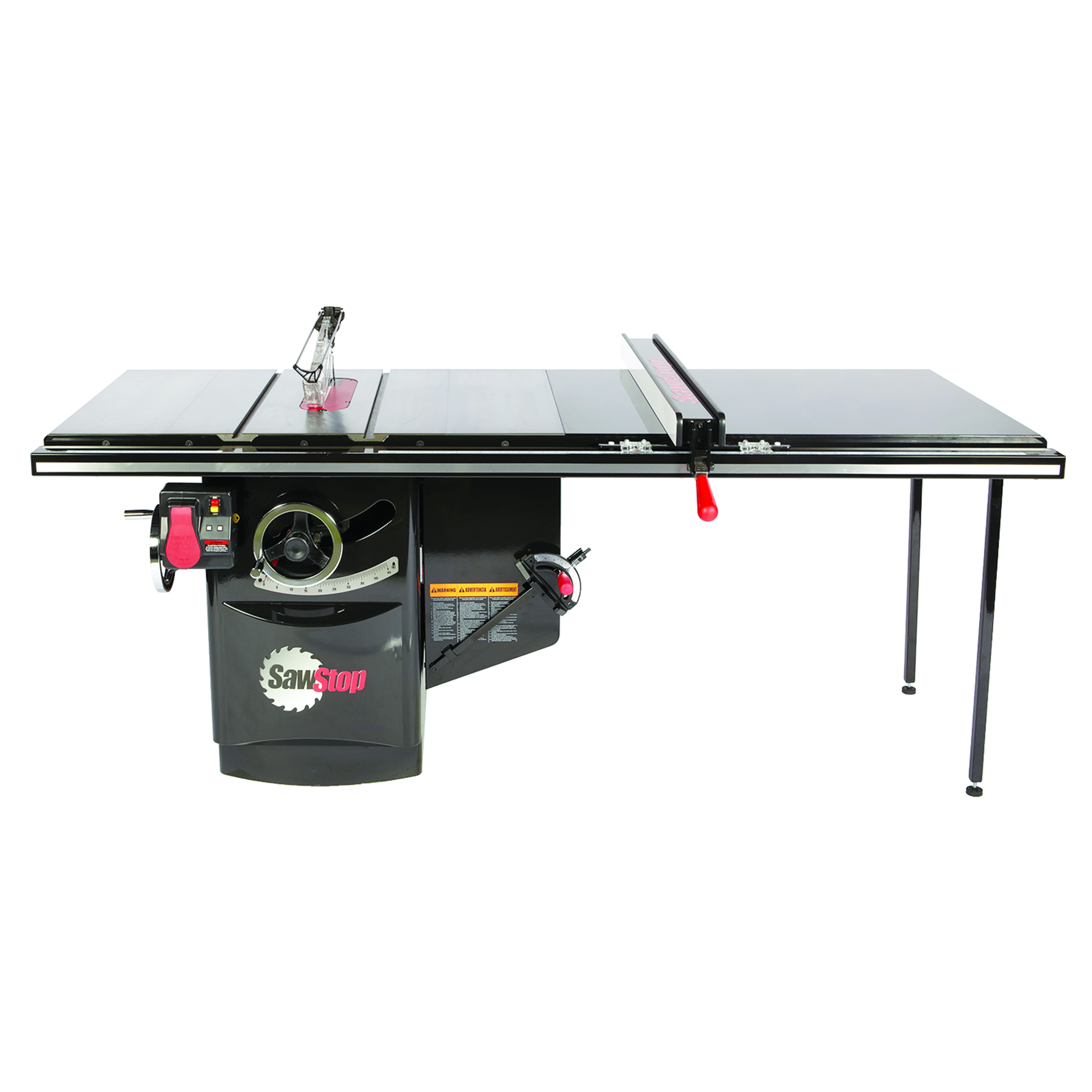 3HP 1PH 230V Industrial Cabinet Saw with 52